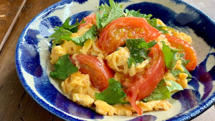 [トマトと大葉の簡単無限おかずレシピ]味変のコツもプロが伝授