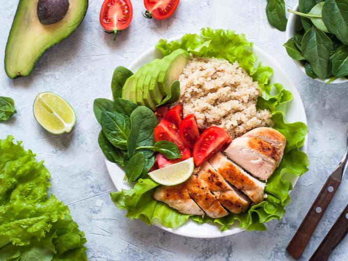 栄養バランスのよい食事