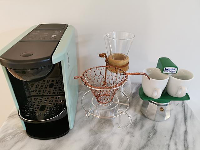 コーヒーメーカーの写真