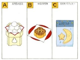 【心理テスト】十五夜をモチーフにお菓子を作ります。あなたが選ぶのは?