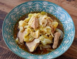 うま味と栄養がギュッ! お鍋でコトコト「キャベツと豚のうま煮」 #今日の作り置き