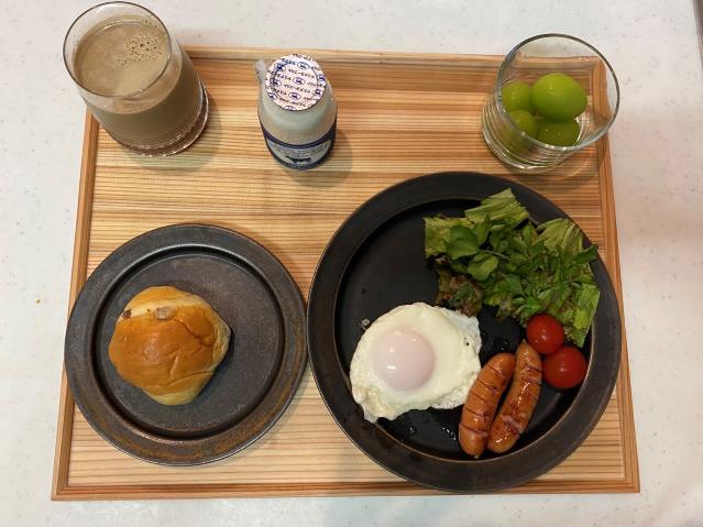 畑野さんの朝食