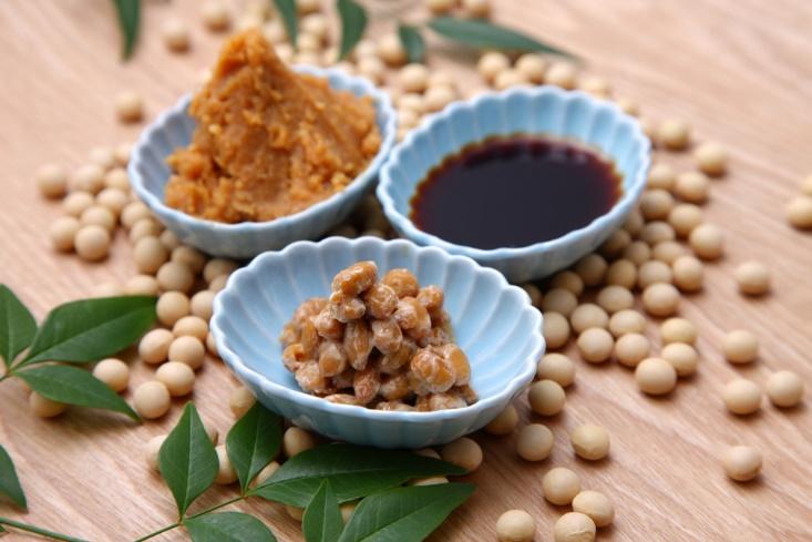 みそや納豆の発酵食品