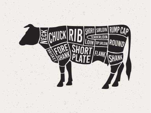 牛イラスト画像